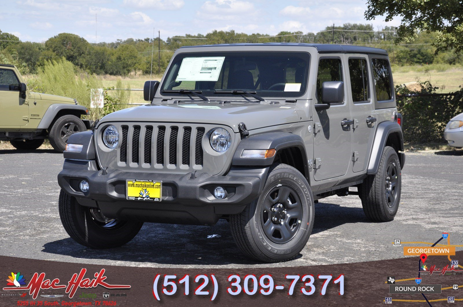 2018 JEEP Wrangler Sport Sport Utility For Sale in Austin ...