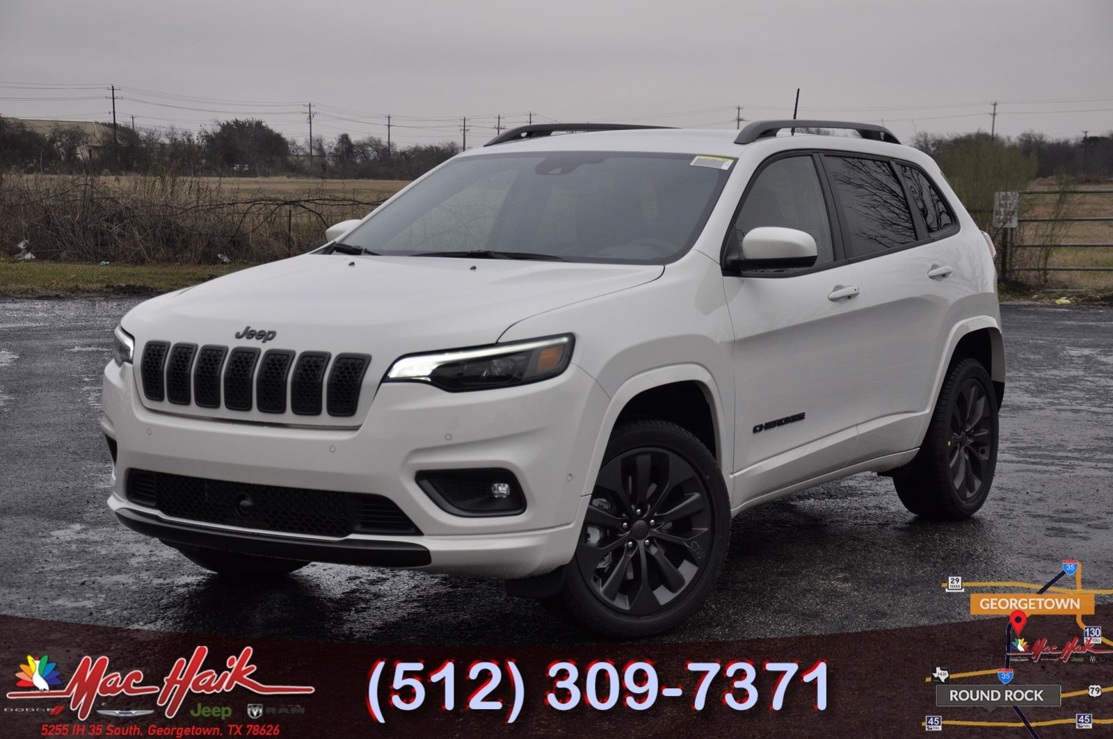 New 2019 JEEP Cherokee High Altitude