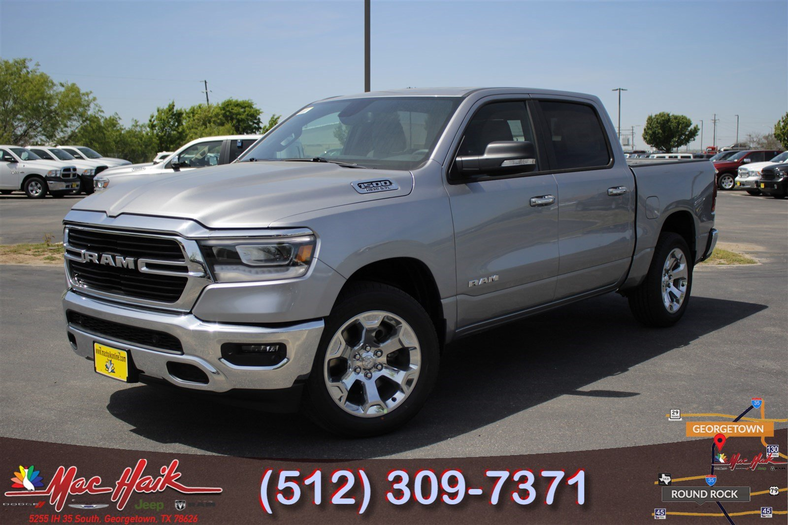 2019 Ram All New 1500 Big Horn Crew Cab For Sale In Austin