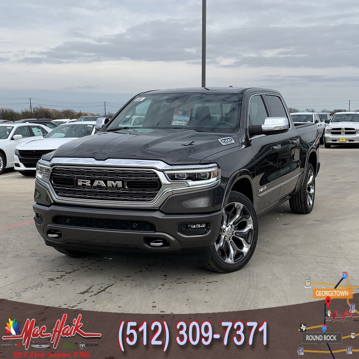2019 Ram 1500: 2019 RAM All-New 1500 Limited Crew Cab For Sale In Austin