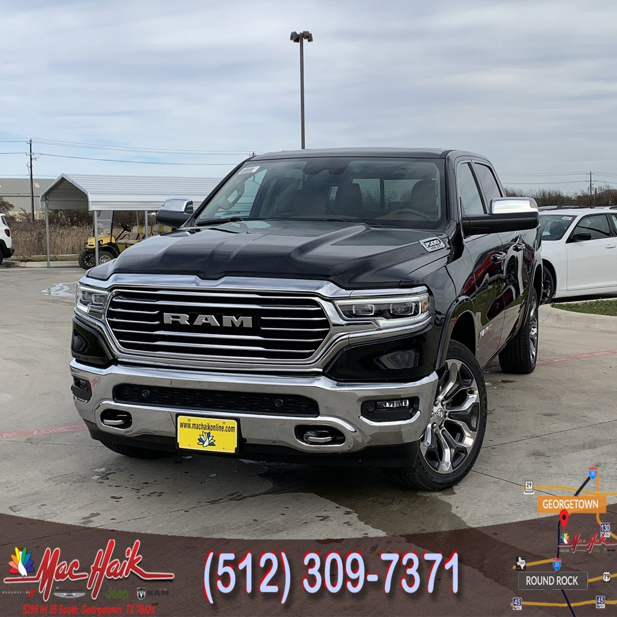 2019 Ram 1500: 2019 RAM All-New 1500 Longhorn Crew Cab For Sale In Austin