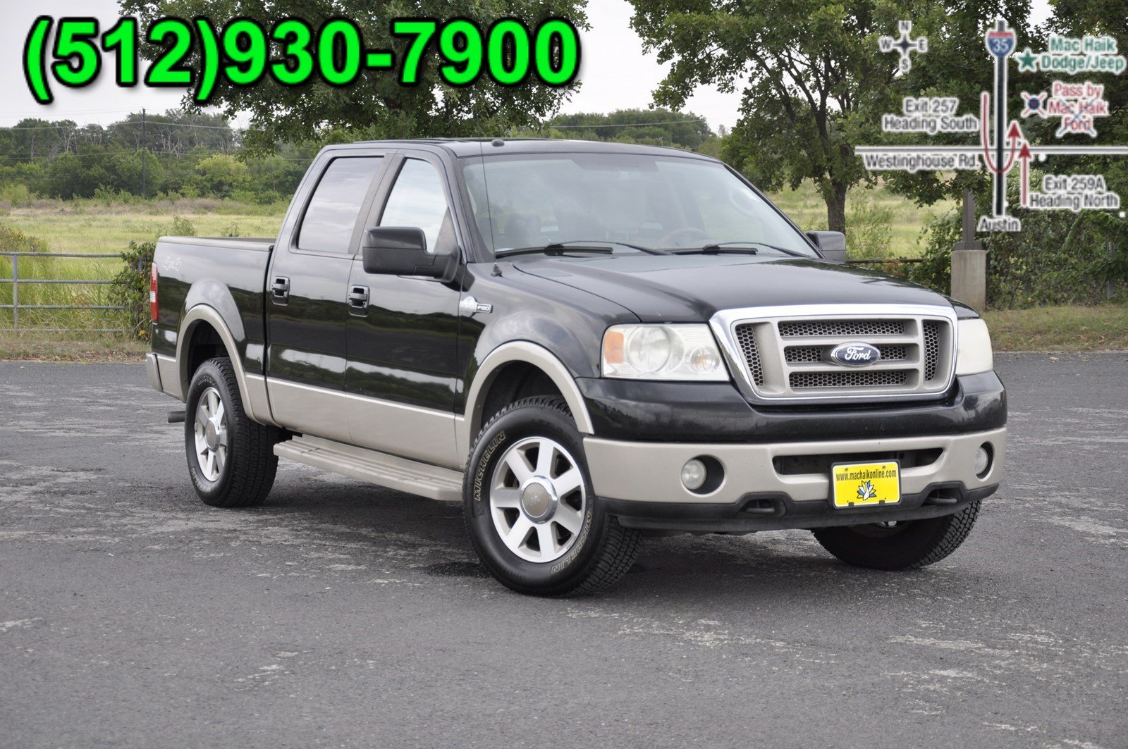 2007 Ford F 150 King Ranch Crew Cab Pickup For Sale In