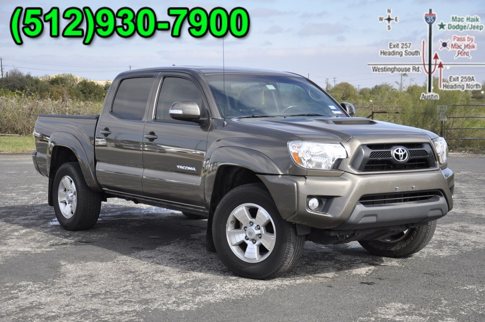 2015 Toyota Tacoma Prerunner Trd Sport Crew Cab Pickup For Sale In