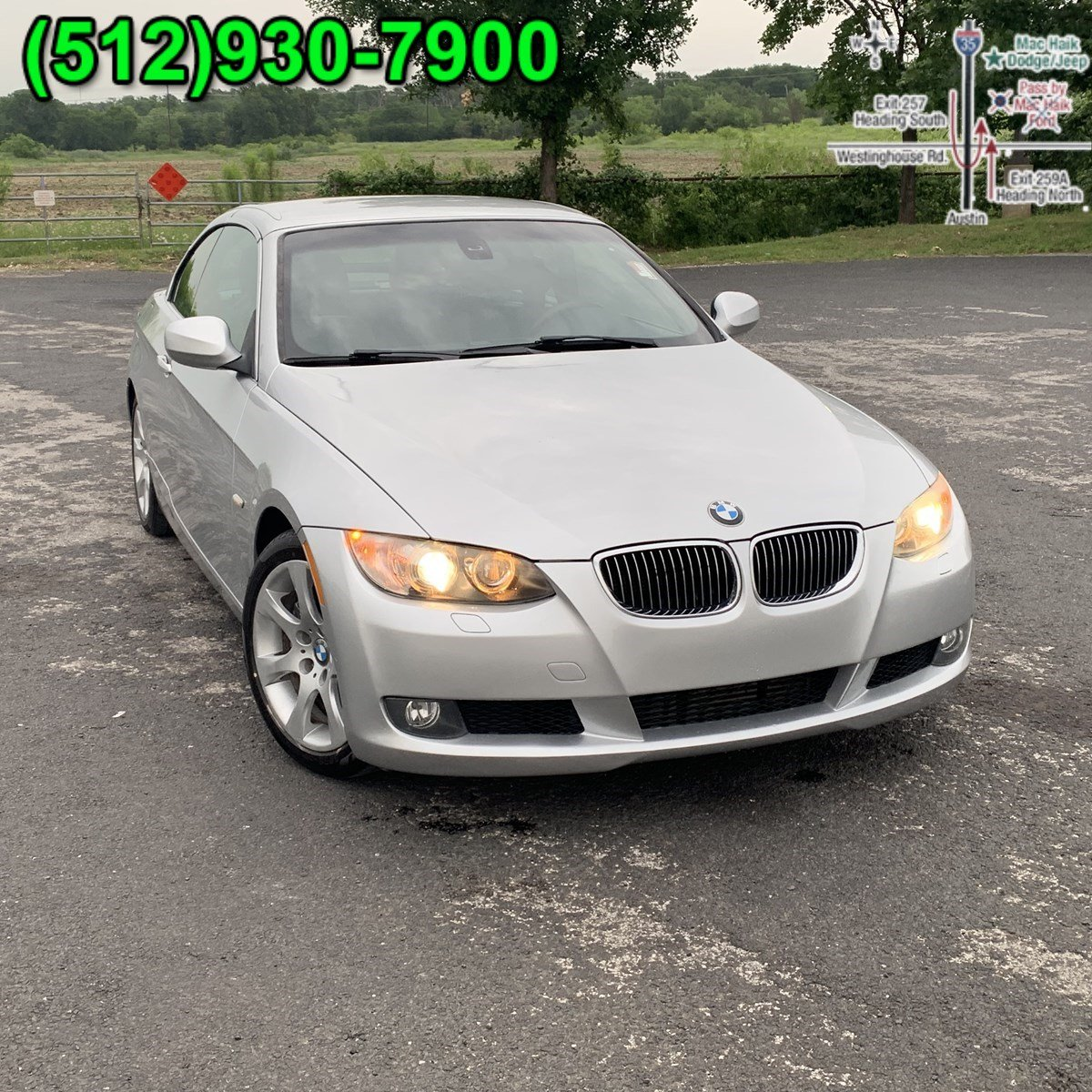 Bmw 335I Convertible >> 2010 Bmw 3 Series 335i Convertible For Sale In Austin Tx B476309