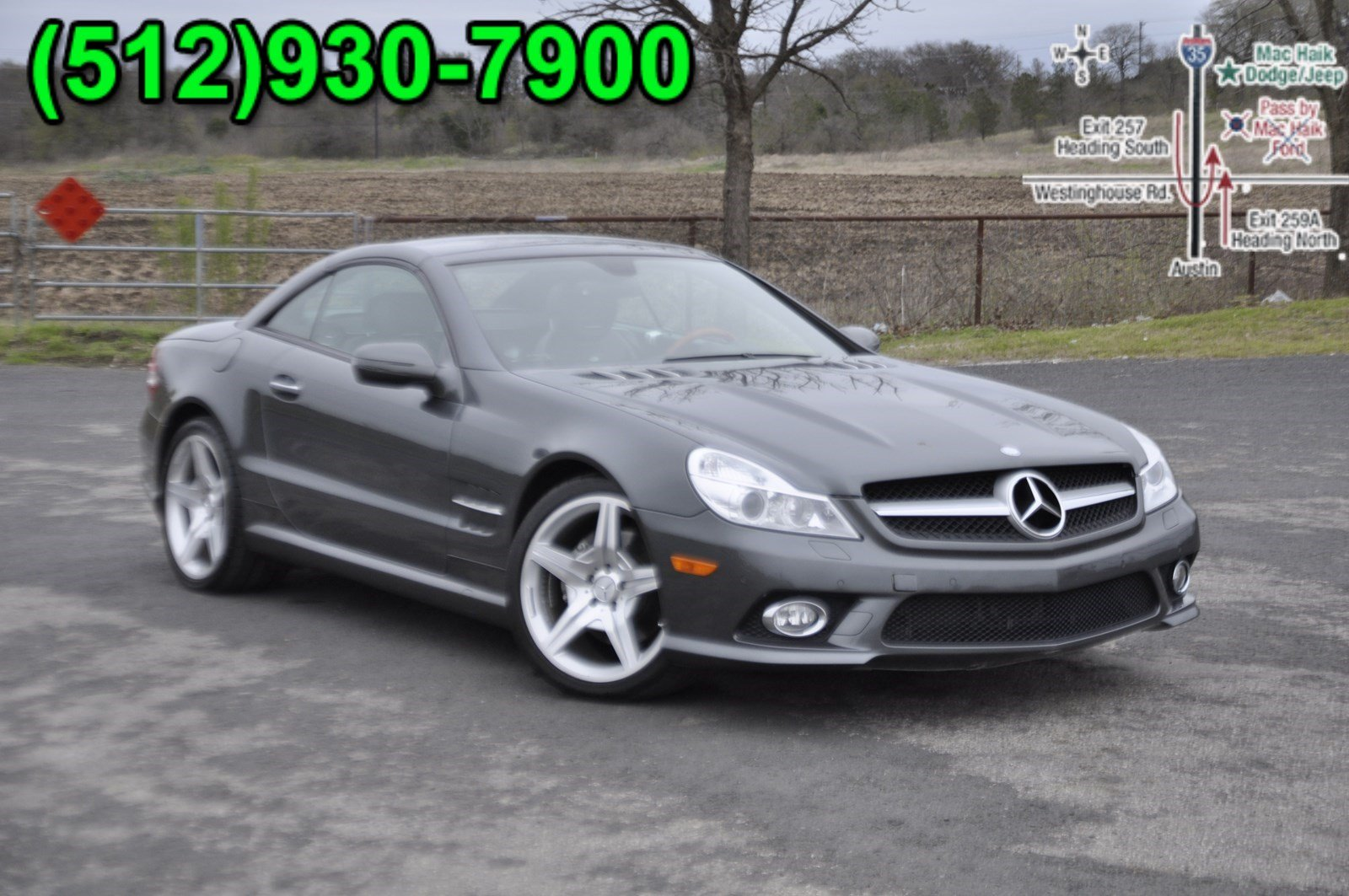 Pre-Owned 2009 Mercedes-Benz SL550R V8