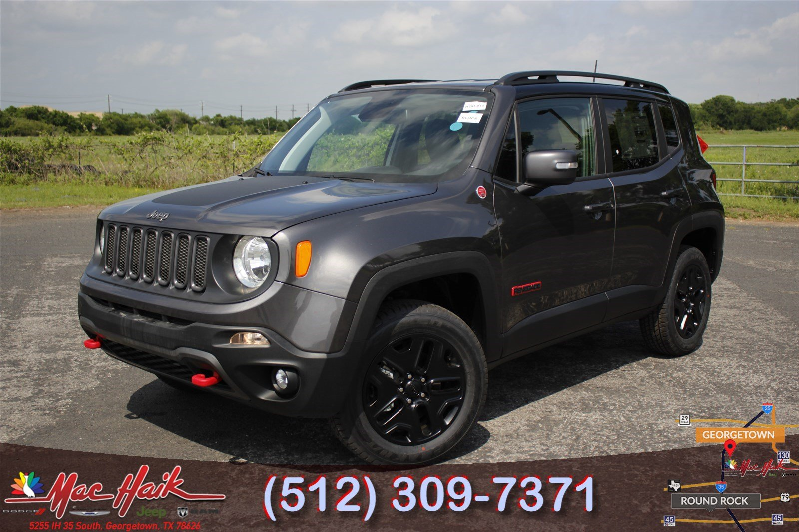 Jeep Renegade Trailhawk For Sale >> 2018 Jeep Renegade Trailhawk Sport Utility For Sale In Austin Tx