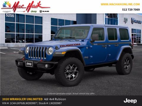 New 2020 JEEP Wrangler Rubicon