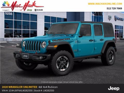 New 2020 JEEP Wrangler Rubicon With Navigation