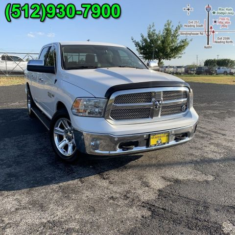Pre-Owned 2018 Ram 1500 Lone Star Silver