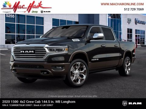 New 2020 RAM 1500 Longhorn With Navigation