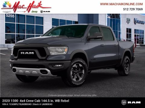 New 2020 RAM 1500 Rebel With Navigation