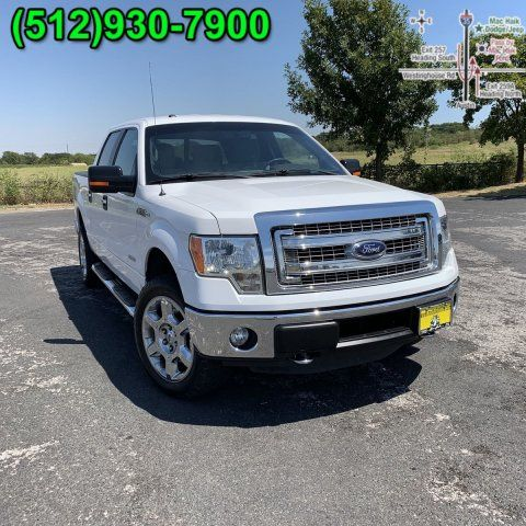 Pre-Owned 2014 Ford F-150 XLT Texas Edition SuperCrew 4X4