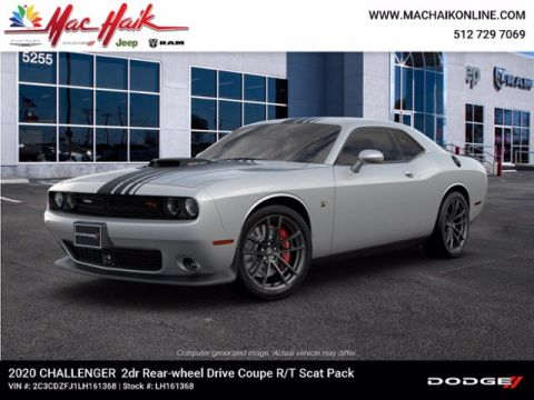 New 2020 DODGE Challenger R/T Scat Pack With Navigation