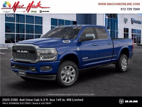 New 2020 RAM 2500 Limited With Navigation