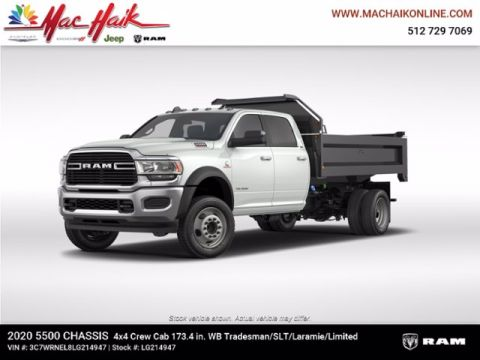 New 2020 RAM 5500 Chassis Cab Tradesman 4x4 Crew Cab